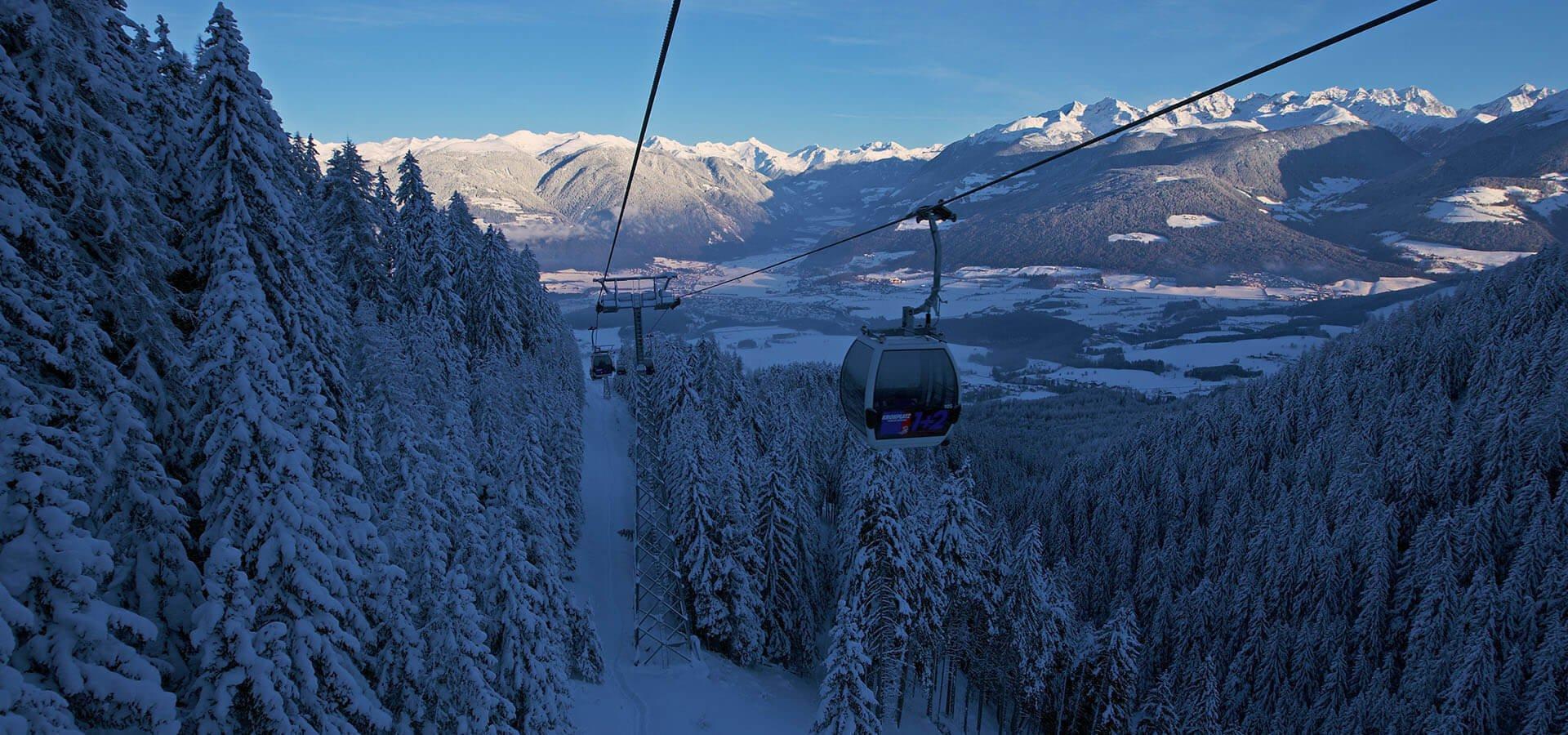 Skigebiet Kronplatz - Fuchshof im Pustertal