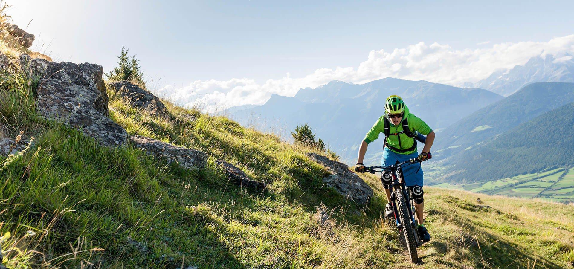 Mountainbike - Urlaub auf dem Bauernhof am Kronplatz