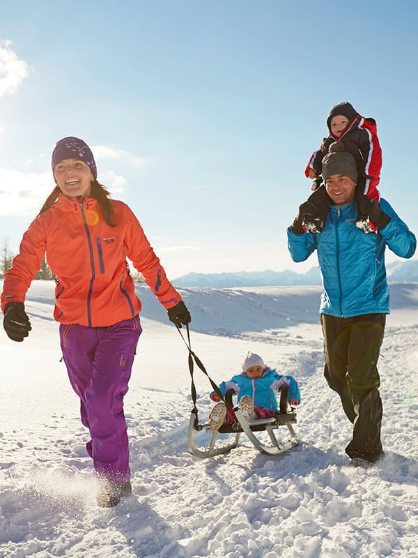 Tobogganing at Plan de Corones| Winter & Fun at the Fuchshof in South Tyrol
